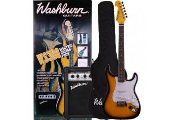 Washburn WS300 PACK Sunburst - Elektro Gitar Seti