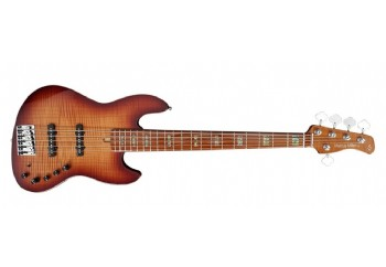 Marcus Miller By Sire V10 Ash 5 TS - Sunburst - 5 Telli Bas Gitar