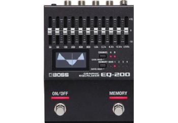 Boss EQ-200 Programmable Stereo Graphic Equalizer - Ekolayzer Pedalı