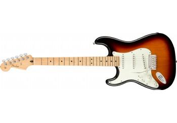 Fender Player Stratocaster Left-Handed 3-Color Sunburst - Maple - Solak Elektro Gitar