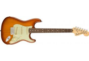 Fender American Performer Stratocaster Honey Burst - Rosewood - Elektro Gitar