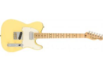 Fender American Performer Telecaster Hum Vintage White - Maple - Elektro Gitar