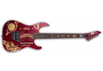 LTD KH-OUIJA Kirk Hammett Limited Edition Red Sparkle - Elektro Gitar
