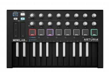 Arturia MiniLab MK II Inverted Edition - 25 Tuş - MIDI Klavye