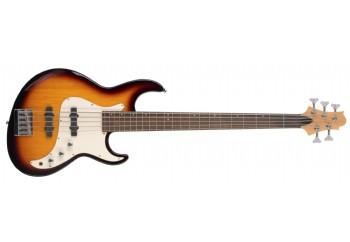 Samick Greg Bennett Fairlane FN-15 - Fırsat Reyonu 2 VS -  Vintage Sunburst  - 5 Telli Bas Gitar