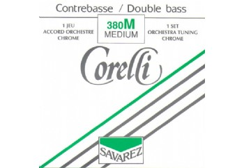 Savarez Corelli Medium Tension 380M Nickel Orchestra Set Takım Tel - Kontrobas Teli