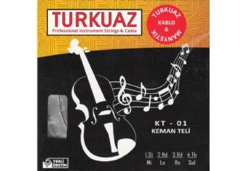 Turkuaz KT-01 Takım Tel - Keman Teli