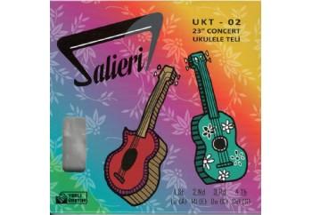 Salieri UKT-02 Takım Tel - Concert Ukulele Teli