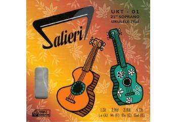 Salieri UKT-01 Takım Tel - Soprano Ukulele Teli