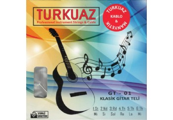 Turkuaz GT-01 Takım Tel - Klasik Gitar Teli