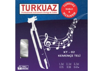 Turkuaz KT-02 Takım Tel - Kemençe Teli