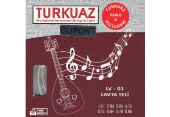 Turkuaz LV-01 Takım Tel - Lavta Teli