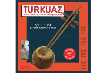 Turkuaz KKT-01 Takım Tel - Kabak Kemane Teli