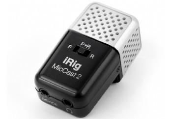 IK Multimedia iRig Mic Cast 2 - Kayıt Mikrofonu (iPhone/iPad/Android)