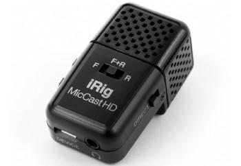 IK Multimedia iRig Mic Cast HD - Dijital Ses Kayıt Mikrofonu (iPhone/iPad/Android)