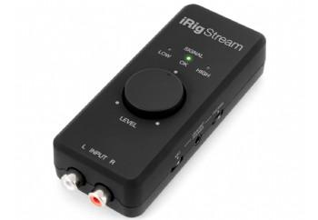 IK Multimedia iRig Stream - Streaming Ses Kartı (iPhone/iPad/MAC/PC)