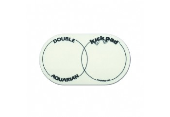Aquarian DKP2 Çiftli Kick Pad - Bas Davul Deri koruyucu (2 Adet)