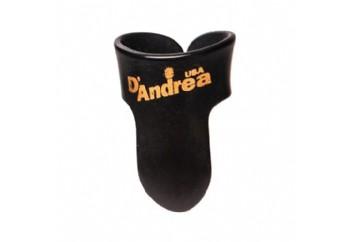 Dandrea Fingerpicks - Parmak Penası (Siyah / Beyaz)