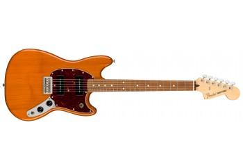 Fender Player Mustang 90 Aged Natural - Pau Ferro - Elektro Gitar