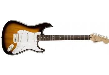 Squier Bullet Stratocaster Brown Sunburst - Laurel - Elektro Gitar