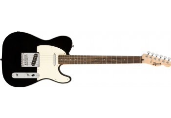 Squier Bullet Telecaster Black - Indian Laurel - Elektro Gitar