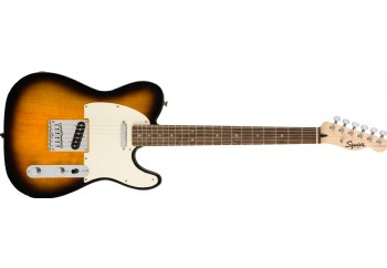 Squier Bullet Telecaster  Brown Sunburst - Indian Laurel - Elektro Gitar