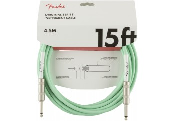 Fender Original Series Instrument Cables 4.5 Metre - Surf Green - Enstrüman Kablosu