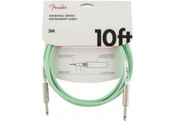 Fender Original Series Instrument Cables 3 Metre - Surf Green - Enstrüman Kablosu