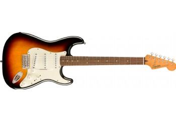 Squier Classic Vibe 60s Stratocaster 3-Color Sunburst - Indian Laurel - Elektro Gitar