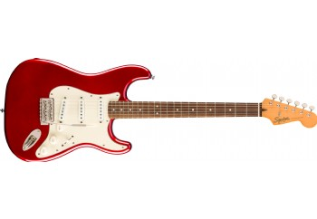 Squier Classic Vibe 60s Stratocaster Candy Apple Red - Indian Laurel - Elektro Gitar