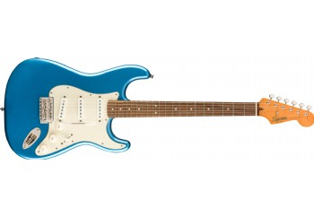 Squier Classic Vibe 60s Stratocaster Lake Placid Blue - Indian Laurel - Elektro Gitar