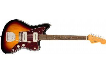 Squier Classic Vibe 60s Jazzmaster 3-Color Sunburst - Indian Laurel - Elektro Gitar