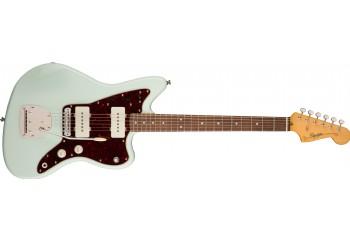 Squier Classic Vibe 60s Jazzmaster Sonic Blue - Indian Laurel - Elektro Gitar