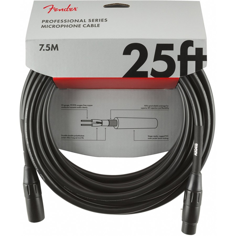 Fender Professional Series Microphone Cable