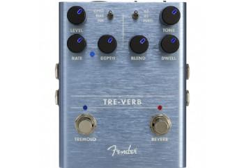 Fender  Tre-Verb Digital Reverb/Tremolo - Reverb /Tremolo Pedalı