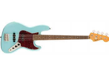 Squier Classic Vibe 60s Jazz Bass Daphne Blue - Indian Laurel - Bas Gitar
