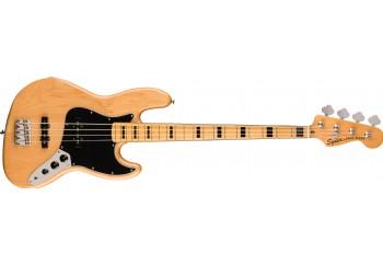 Squier Classic Vibe 70s Jazz Bass Natural - Maple - Bas Gitar