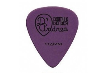 Dandrea TPD351 Formula Delrex Picks XH Heavy Purple - 1.14mm - Pena