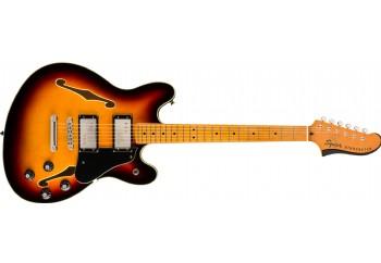 Squier Classic Vibe Starcaster 3-Color Sunburst - Maple - Elektro Gitar