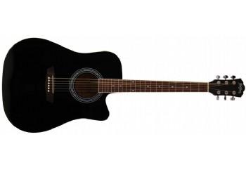 Washburn WA90CE Black - Elektro Akustik Gitar