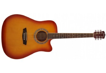 Washburn WA90CE Tobacco Sunbusrt - Elektro Akustik Gitar