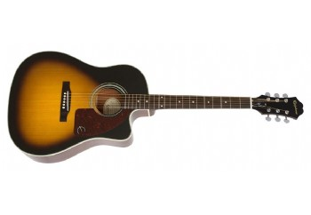 Epiphone AJ-210CE Vintage Sunburst - Elektro Akustik Gitar