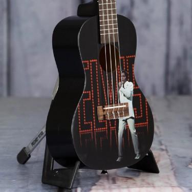 Kala Elvis Viva Las Vegas Concert Ukulele Starter Kit