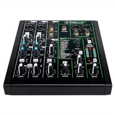 Mackie ProFX6 V3 6-Channel Mixer with USB & FX
