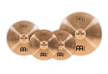 Meinl HCS Bronze Complete Cymbal Set - HCSB141620 - Zil Seti