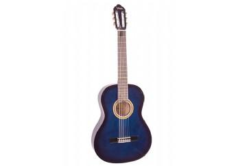Valencia VC104T Sap Çelikli Mavi - Klasik Gitar