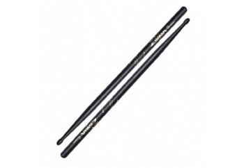 Zildjian Z5B 5B Wood Tip Hickory Drumsticks Black - Baget