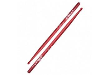 Zildjian Z5B 5B Wood Tip Hickory Drumsticks Naylon Red - Baget