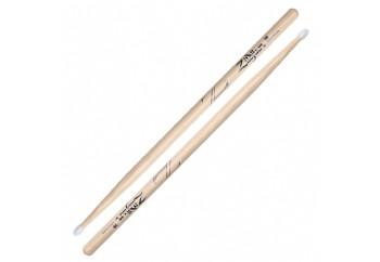 Zildjian Z5B 5B Wood Tip Hickory Drumsticks Nylon Natural - Baget