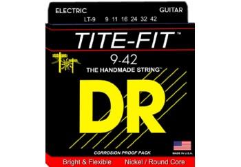 DR Tite-Fit LT-9 Takım Tel - Elektro Gitar Teli 009-042